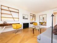 Open wall-mounted walnut bookcase BROMPTON | Bookcase - IVAR