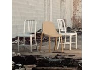 Stackable polypropylene chair BROOM | Chair - Emeco