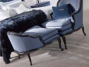 Fabric footstool BURT | Footstool - Gianfranco Ferré Home