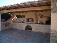 Terracotta barbecue Barbecue 10 - Garden House Lazzerini
