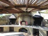 Travertine barbecue Barbecue 11 - Garden House Lazzerini