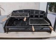 Wrought iron barbecue Barbecue 13 - Garden House Lazzerini