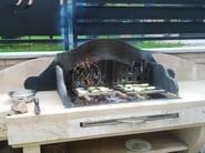 Travertine barbecue Barbecue 6 - Garden House Lazzerini