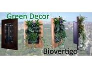 Biovertigo quadro vegetale per pareti verdi e giardini verticali.