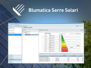 Energy certification Blumatica Serre Solari - Blumatica
