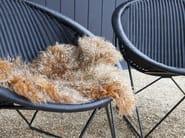 Poltroncina a slitta da giardino in polietilene C317 OUTDOOR - Feelgood Designs