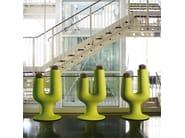 Polyethylene vase CACTUS - PLUST Collection by euro3plast