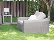 Poltrona da giardino in polietilene con braccioli CALDERAN HAWAI 42421 - SKYLINE design