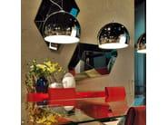 Chrome plated steel pendant lamp CALIMERO - Cattelan Italia
