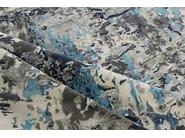 Handmade rug CAMARGO LARIMAR - EDITION BOUGAINVILLE