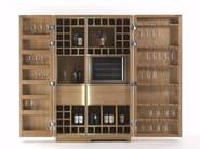 Solid wood bar cabinet CAMBUSA WINE & WINE JUMBO - Riva 1920