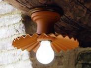 Ceramic ceiling light CAPPE | Ceiling light - Aldo Bernardi