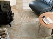 Porcelain stoneware flooring with marble effect CAPPUCCINO | Porcelain stoneware flooring - Venis
