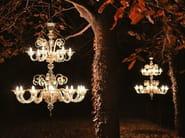 Blown glass chandelier CAPRICCIO 550 | Murano glass chandelier - MULTIFORME
