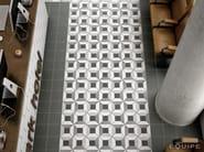 Caprice Black, DECO Block B&W 20x20