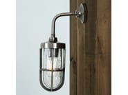 Direct light handmade wall lamp CARAC FROSTED WELL GLASS WALL LIGHT - Mullan Lighting
