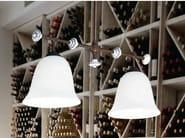 Glass pendant lamp CARACOI | Pendant lamp - Aldo Bernardi