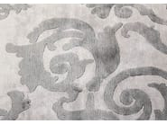 Handmade rectangular custom rug CARDINAL VINTAGE PEARL - EDITION BOUGAINVILLE