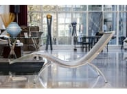 Chaise longue in acciaio inox CARRERA - Placidia