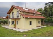 Wooden house CASA MIA 136 - Spazio Positivo by Rensch-Haus