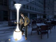 Contemporary style LED garden lamp post CASANOVA | LED garden lamp post - Enjoy your Life by Idrobase Group