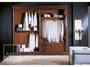 Wooden wardrobe with sliding doors CASANOVA | Wardrobe with sliding doors - Arvestyle