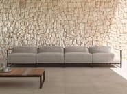 4 seater fabric garden sofa CASILDA | Sofa - Talenti