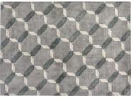 Rectangular silk rug with geometric shapes CATANIA - ITALY DREAM DESIGN - Kallisté