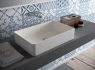 Countertop rectangular HI-MACS® washbasin CB540R - HI-MACS® by LG Hausys Europe