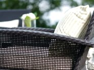 Garden armchair with armrests CEDAR | Garden armchair with armrests - 7OCEANS DESIGNS