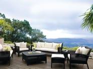 Rectangular garden footstool CEDAR | Garden footstool - 7OCEANS DESIGNS