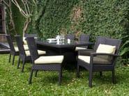 Tavolo da giardino rettangolare CEDAR | Tavolo da giardino - 7OCEANS DESIGNS