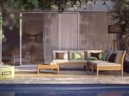 2 seater fabric sofa CENTRAL MODULE 2P - Atmosphera
