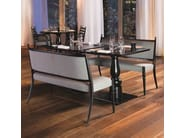 Contemporary style upholstered wooden restaurant booth CENTURY 20 - Very Wood
