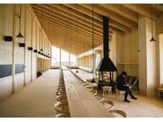 Folding solid wood chair CHAIR B - BD Barcelona Design