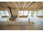 Folding solid wood chair CHAIR B | Chair - BD Barcelona Design