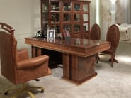 Wooden writing desk CHARME | Writing desk - Carpanelli Classic