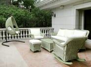 Pouf da giardino quadrato CHATHAM | Pouf da giardino - 7OCEANS DESIGNS