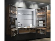 Professional kitchen unit CHEF DE CUISINE - TONCELLI CUCINE