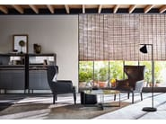 Upholstered high-back armchair CHELSEA | Armchair with armrests - MOLTENI & C.