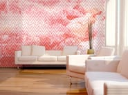 Geometric nonwoven wallpaper CHEVRON - MyCollection.it