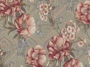 Tessuto in fibra sintetica con motivi floreali CHIARA - Gancedo