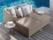 Sectional textilene garden sofa CHIC | Sectional sofa - Talenti