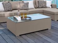 Rectangular textilene coffee table CHIC | Textilene coffee table - Talenti