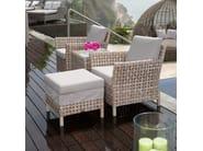 Poggiapiedi da giardino quadrato CIELO 23106 - SKYLINE design