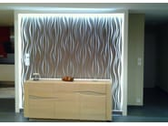Modular indoor gypsum 3D Wall Panel CL32 - Staff Décor