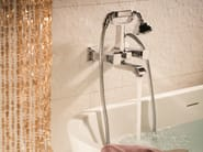 2 hole wall-mounted bathtub tap with diverter CLASS-X | Bathtub tap - NEWFORM