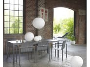 Rectangular garden table CLASSIC ALU   Rectangular table - solpuri