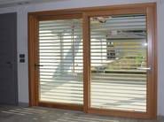 Wooden triple glazed window CLIMA 92 - Alpilegno
