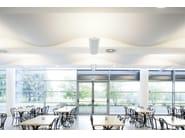 Sound absorbing radiant ceiling tiles CLIMACUSTIC - FANTONI